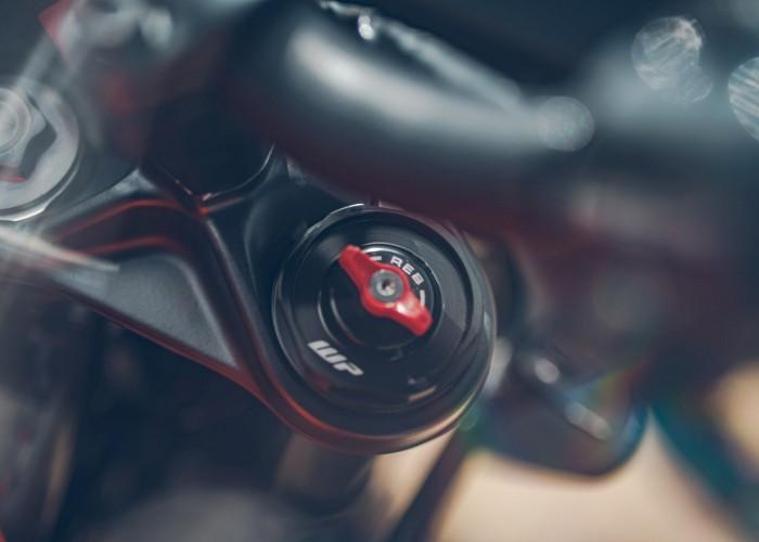 KTM 390 Adventure 2020 regulowane zawieszenie