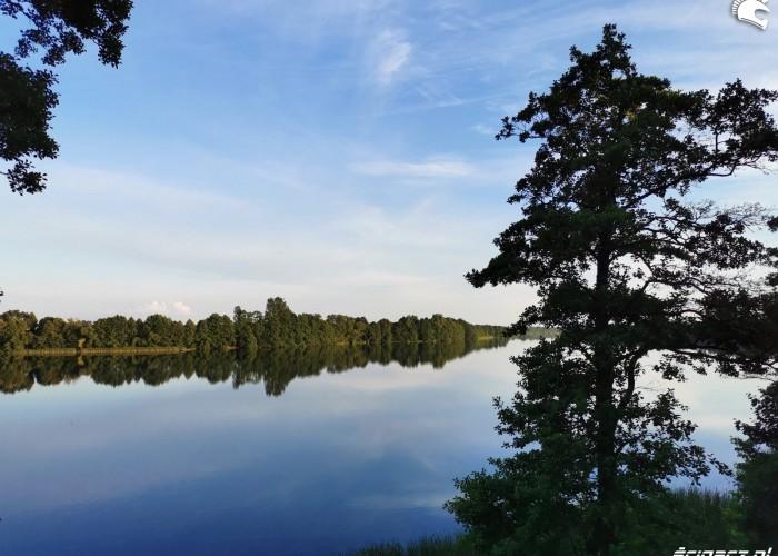 Bory Tucholskie jezioro Cekcynskie