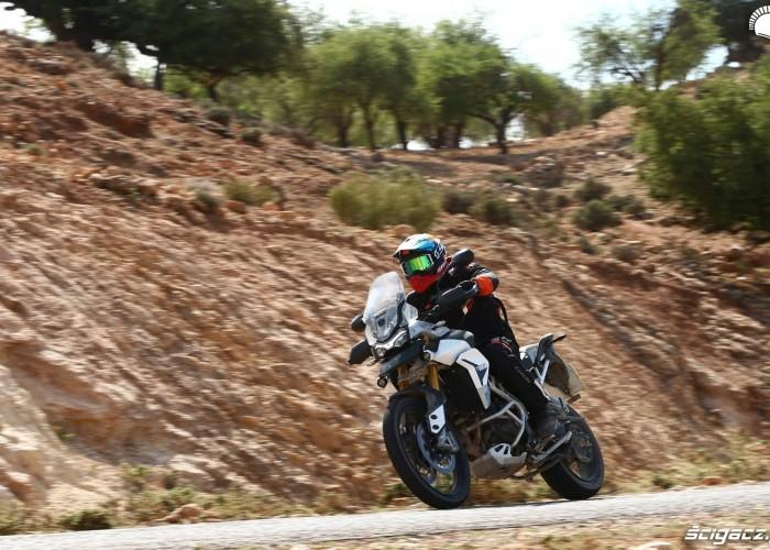005 testy triumpha tigera 900 maroko