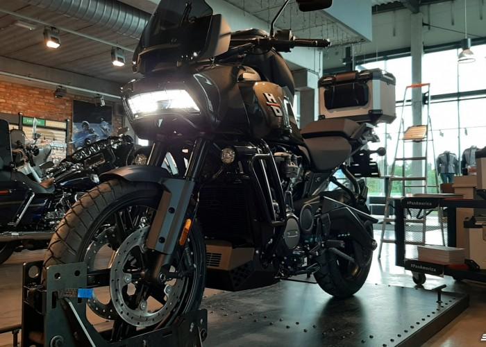 07 2021 Harley Davidson Pan America 1250 swiatlo