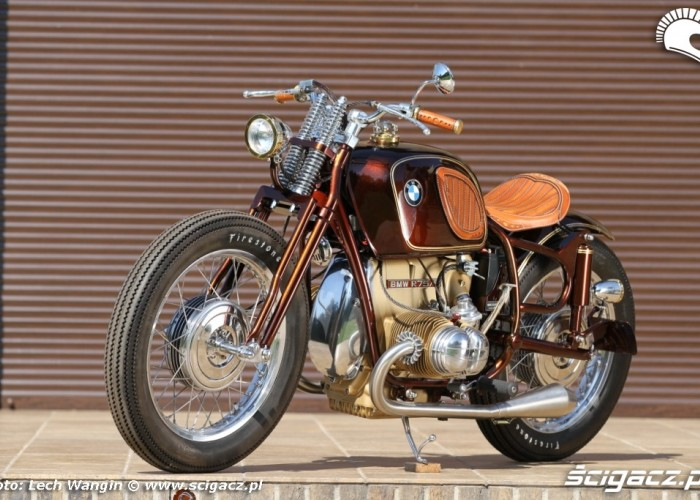 04 BMW R75 Brown Betty odnowiony