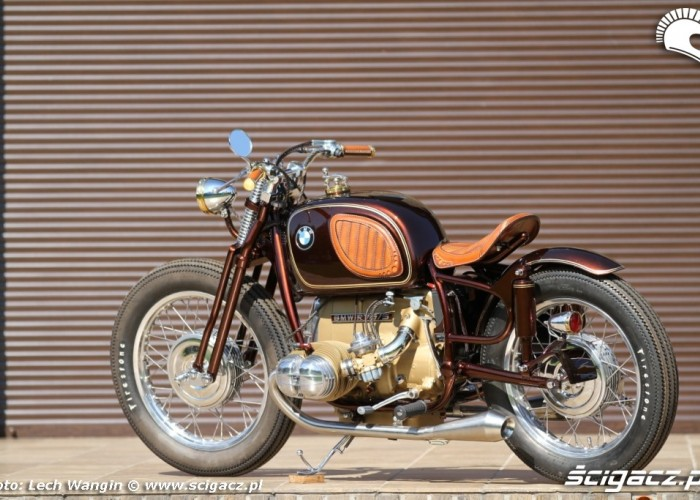 06 BMW R75 Brown Betty oldschool