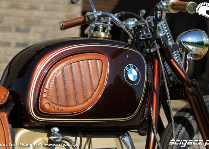 09 BMW R75 Brown Betty zbiornik
