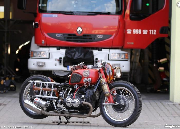 01 Dniepr K650 Fire Bike strazak