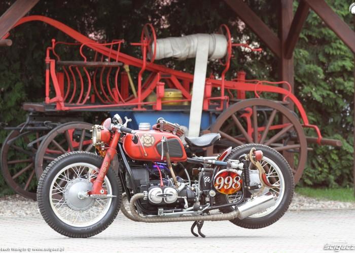 02 Dniepr K650 motocykl strazacki