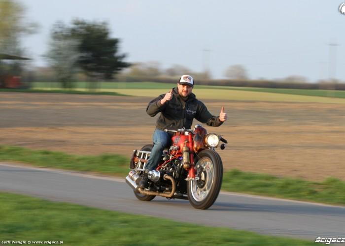 03 Dniepr K650 Fire Bike bez trzymanki