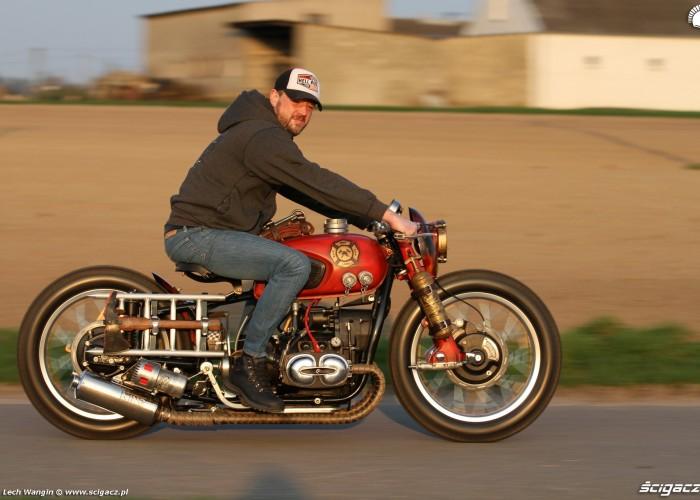 05 Dniepr K650 Fire Bike custom