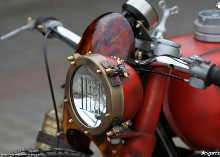 20 Dniepr K650 Fire Bike reflektor