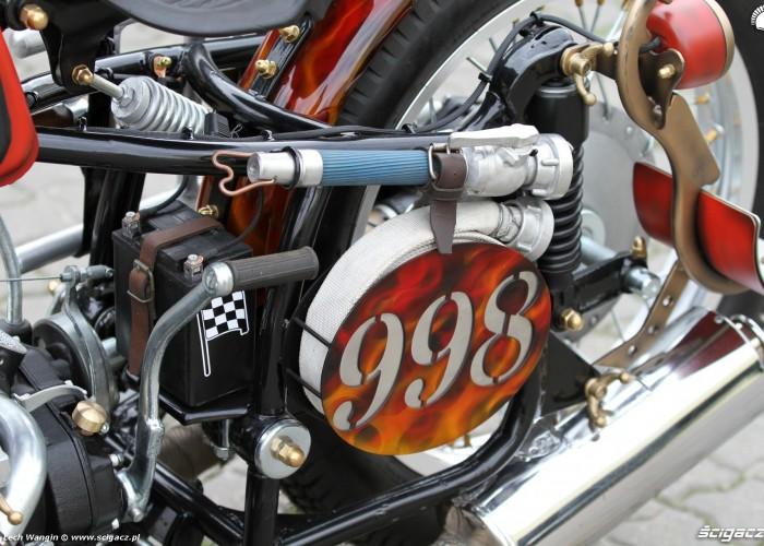 22 Dniepr K650 Fire Bike 998