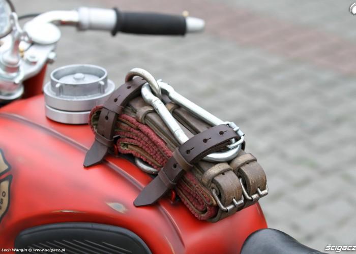 25 Dniepr K650 Fire Bike custom