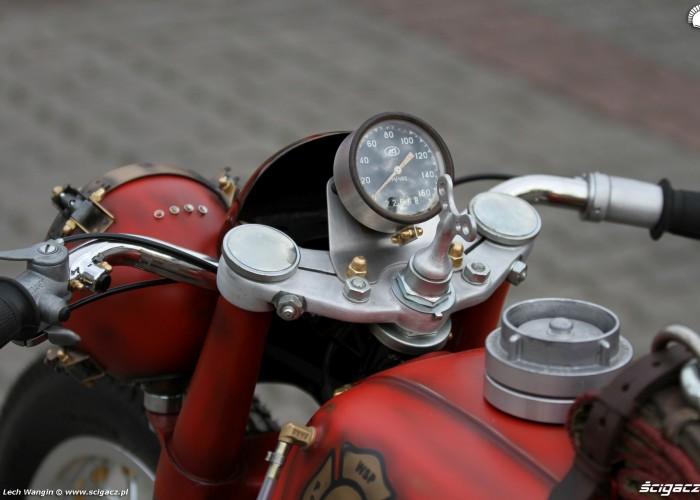 26 Dniepr K650 Fire Bike custom