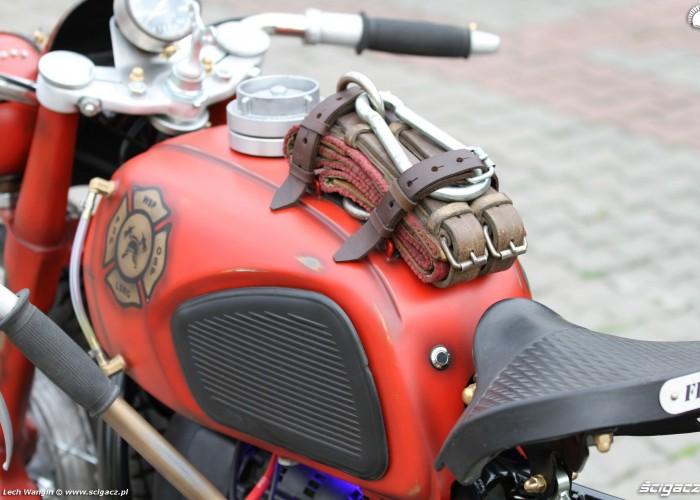 29 Dniepr K650 Fire Bike custom