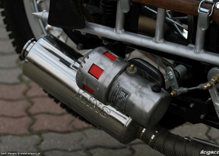 32 Dniepr K650 Fire Bike custom