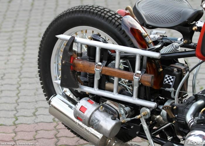 33 Dniepr K650 Fire Bike custom