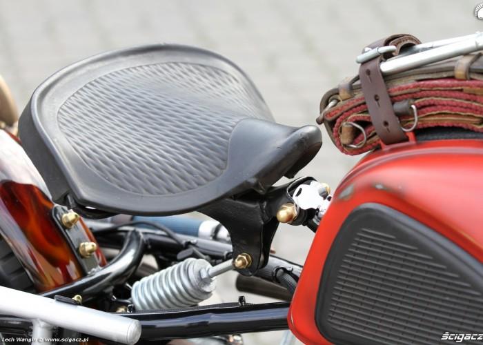 34 Dniepr K650 Fire Bike custom