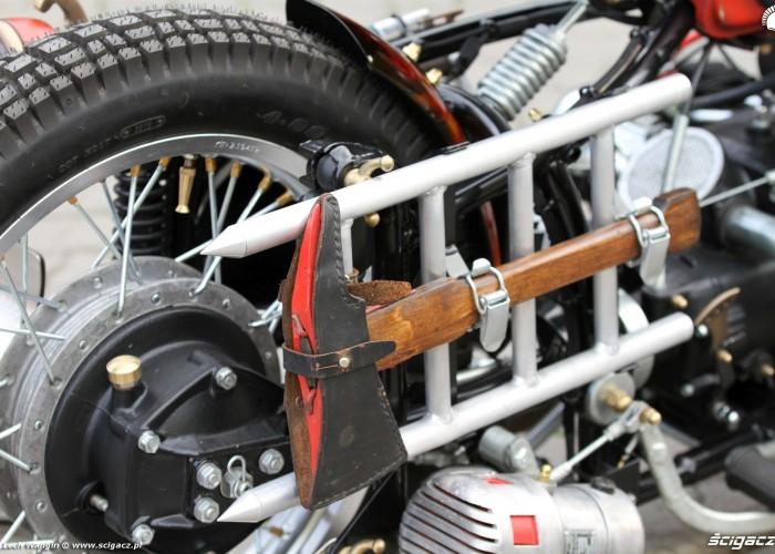 35 Dniepr K650 Fire Bike custom