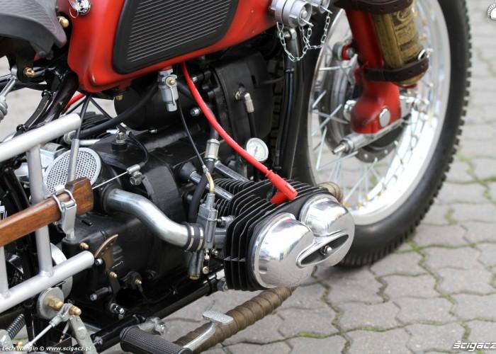 36 Dniepr K650 Fire Bike custom