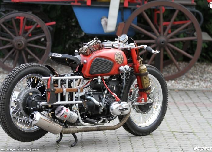 36 Dniepr K650 Fire Bike custom straz pozarna
