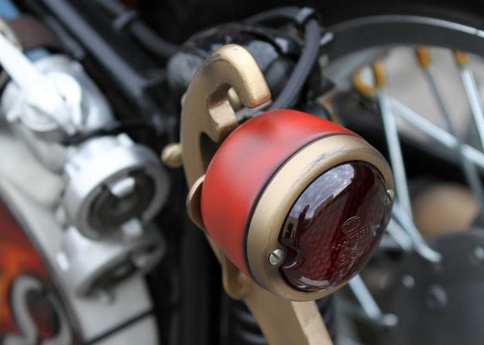 38 Dniepr K650 Fire Bike custom