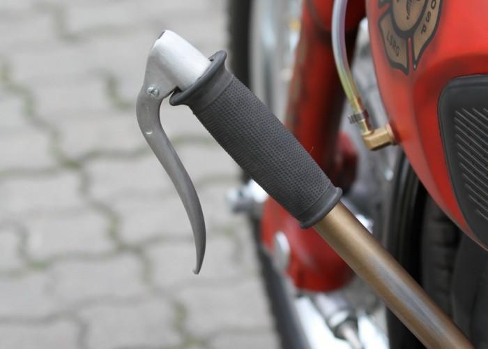 40 Dniepr K650 Fire Bike custom