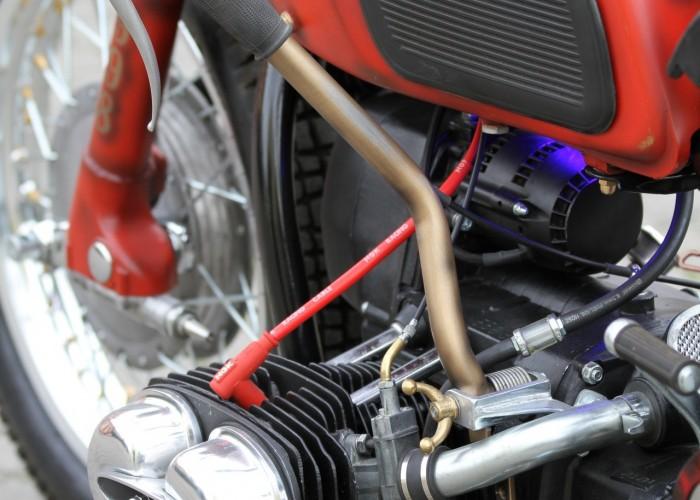 42 Dniepr K650 Fire Bike custom
