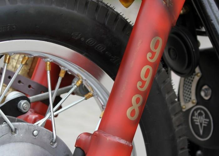 45 Dniepr K650 Fire Bike custom
