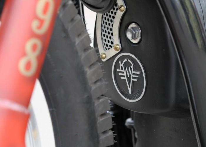 46 Dniepr K650 Fire Bike custom