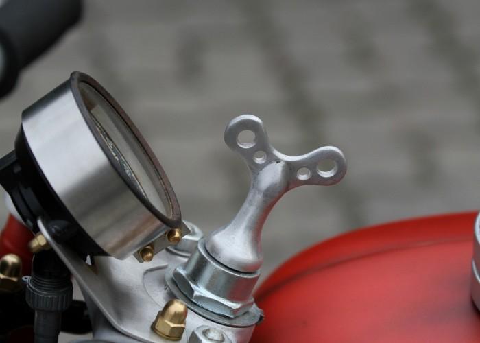 48 Dniepr K650 Fire Bike custom