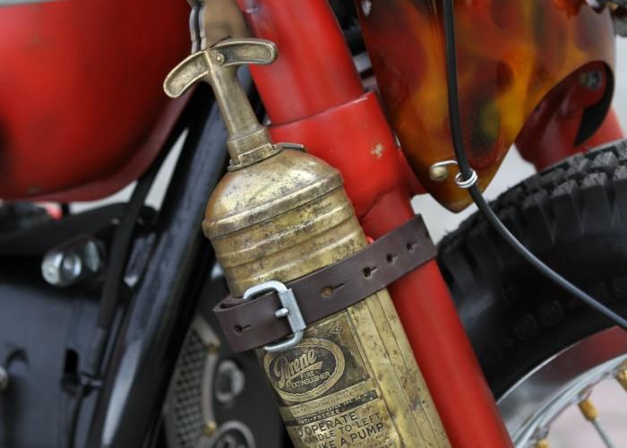 51 Dniepr K650 Fire Bike custom