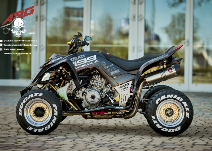 01 Ducati 1199 Panigale Yamaha Raptor
