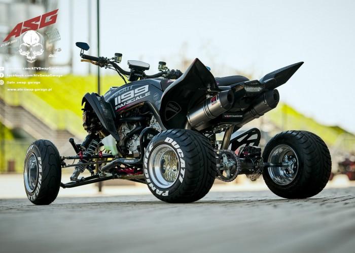 04 Ducati 1199 Panigale ATV Swap Garage