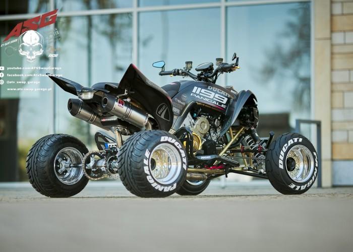 05 Ducati 1199 Panigale ATV Swap Garage Yamaha Raptor