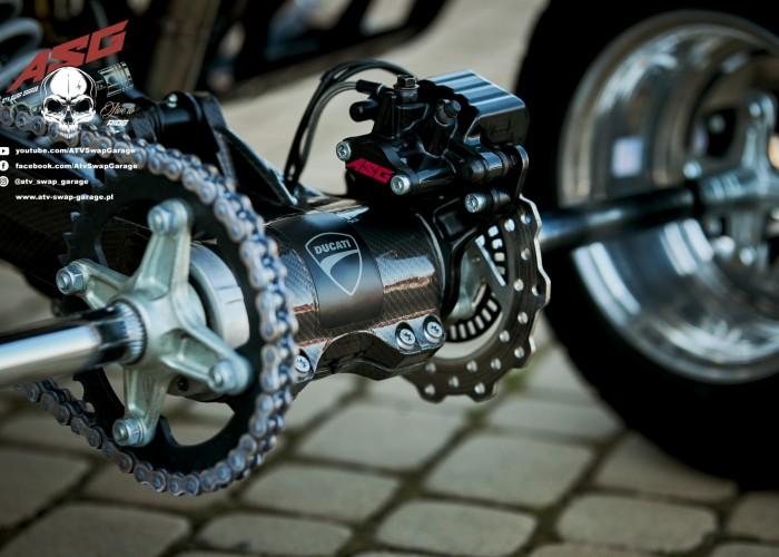 08 Ducati 1199 Panigale ATV Swap Garage naped