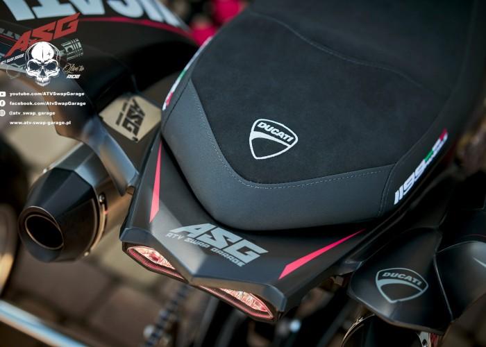 09 Ducati 1199 Panigale ATV Swap Garage siodlo