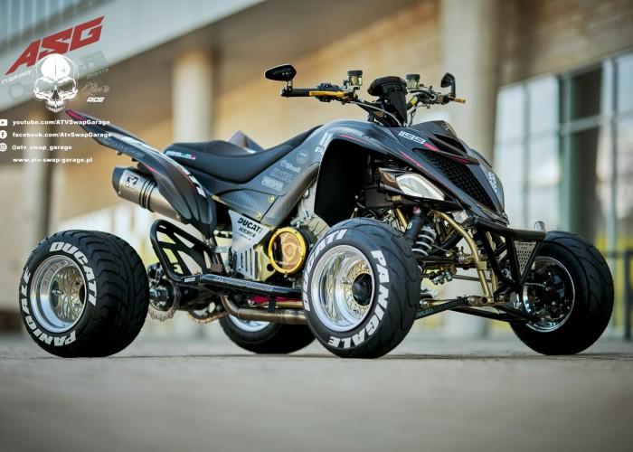 11 Ducati 1199 Panigale ATV Swap Garage