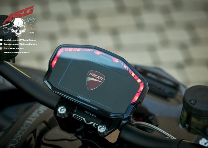 12 Ducati 1199 Panigale ATV Swap Garage zegary