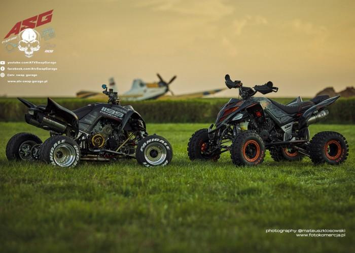 14 Ducati 1199 Panigale i KTM 1290R ATV Swap Garage