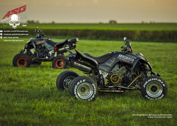 15 Ducati i KTM ATV Swap Garage