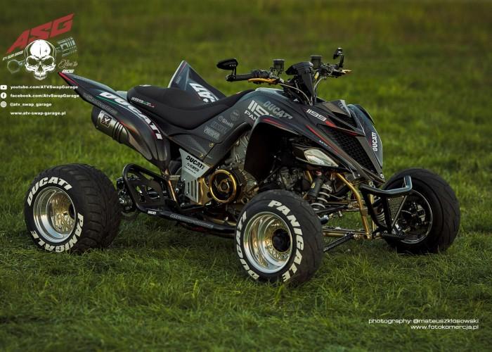 18 Ducati 1199 Panigale ATV Swap Garage custom quad