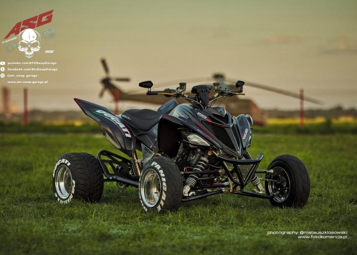 19 Ducati 1199 Panigale ATV Swap Garage custom
