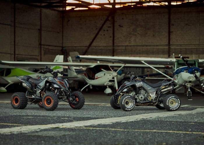 21 Ducati 1199 Panigale i KTM 1290R Super Adventure Quad lotnisko