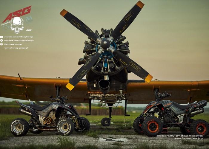 24 Ducati 1199 Panigale i KTM 1290R Super Adventure Quad