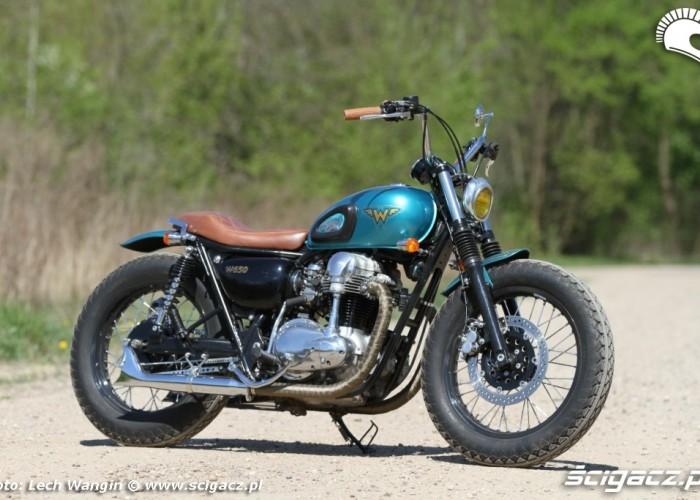 31 Kawasaki W 650 Flying Duxe custom bobber