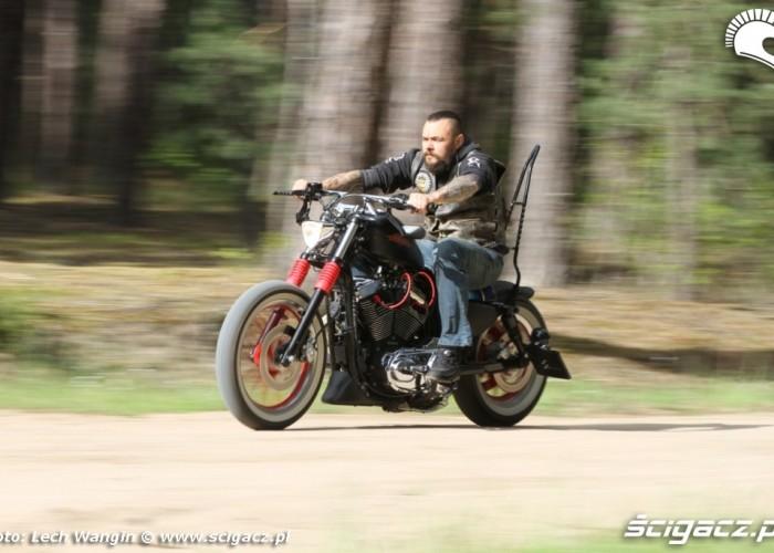 03 Custom Harley Davidson Sportster