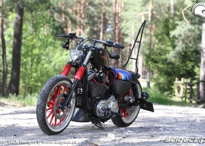 12 Harley Davidson Sportster w plenerze