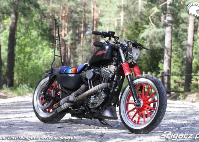 13 Custom Harley Davidson Sportster plener