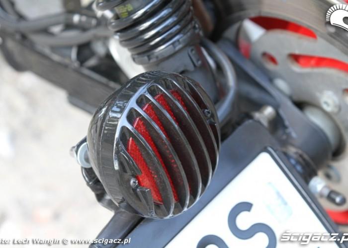 23 Custom Hell Ride Harley Davidson Sportster detale