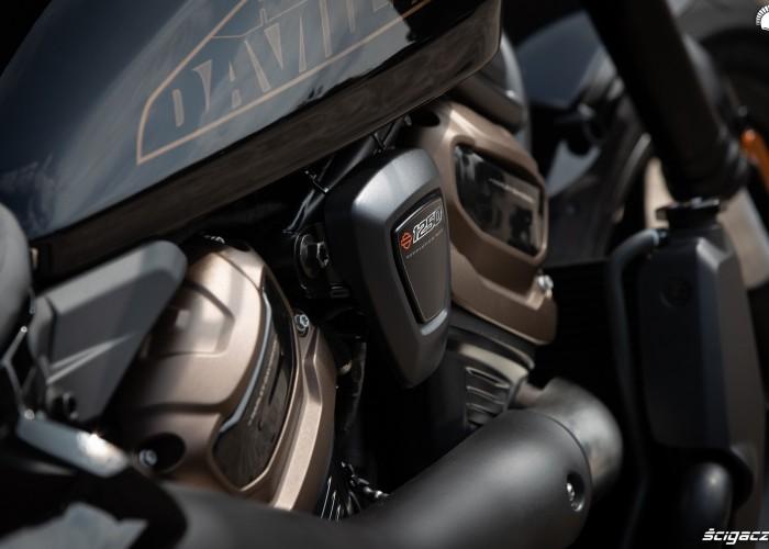 2021 harley davidson sportster s silnik revolution max 1250t