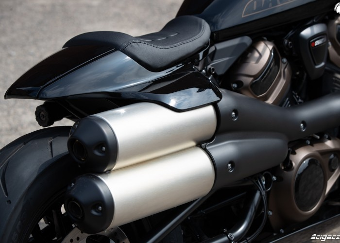 2021 harley davidson sportster s tyl motocykla
