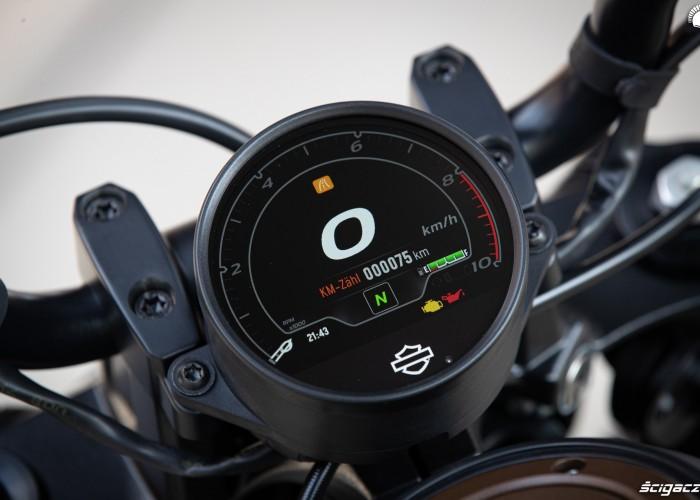 2021 harley davidson sportster s zegary licznik wyswietlacz